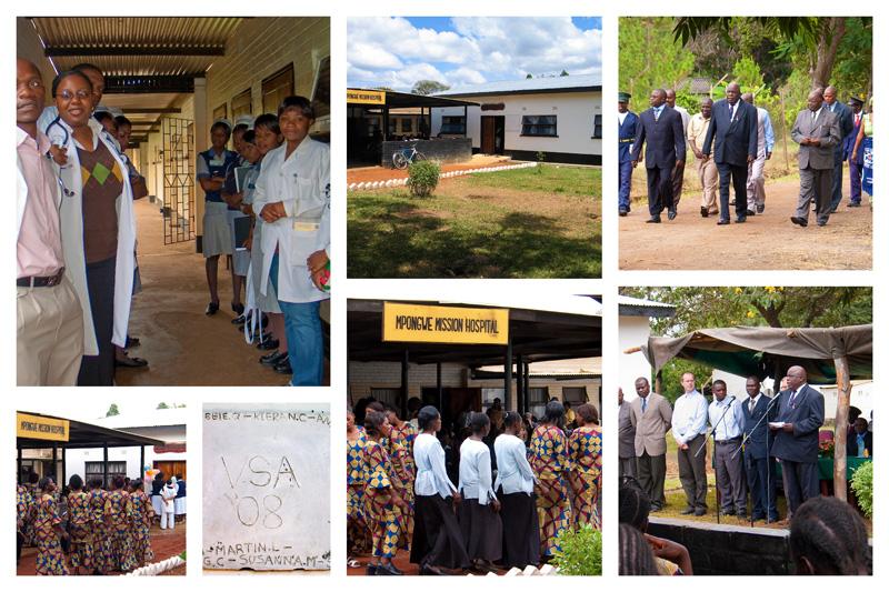 Mpongwe Mission Hospital New OPD CLINIC Dedication celebration April 2008