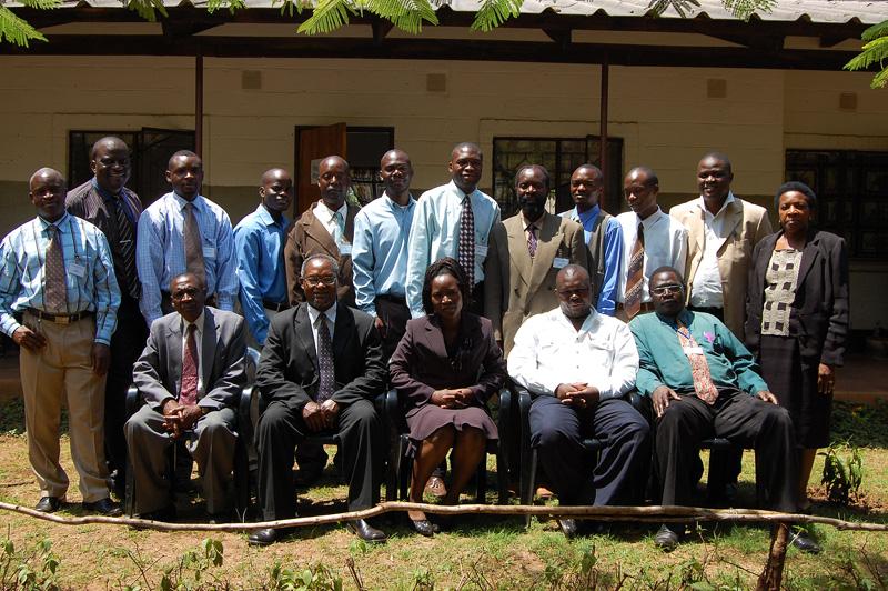 Development project Leadership Training modules Feb 2008 with teachers from Corat.