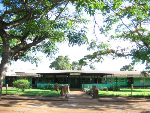 Mpongwe Mission Hospital Zambia older photo