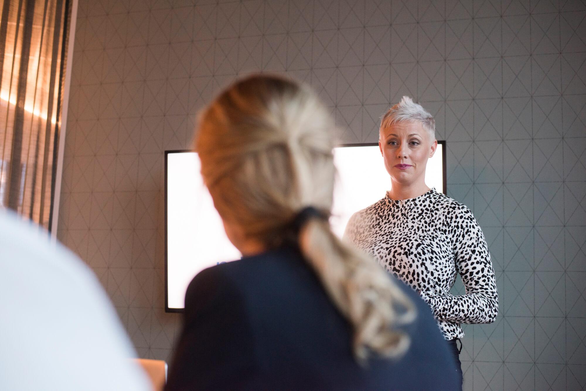 Snabbutbildning av stabschefer inom samhällsviktig verksamhet. Foto: Andreas Varro