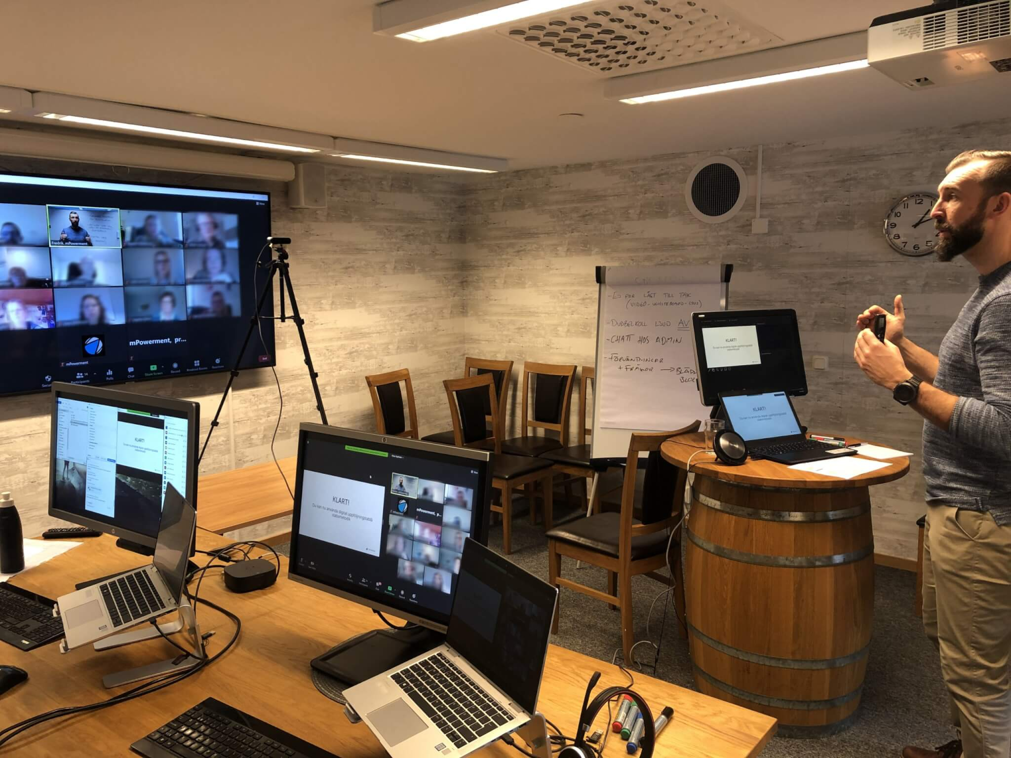 Visualisera stabsarbetet digitalt