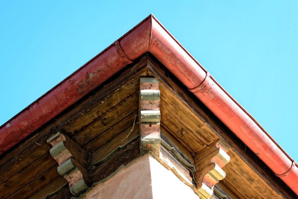 house roof corner