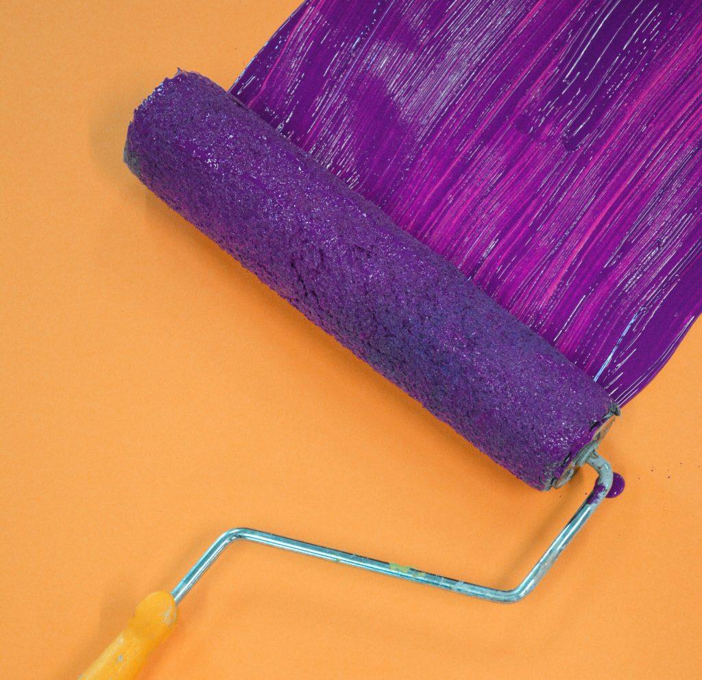 purple paint colour