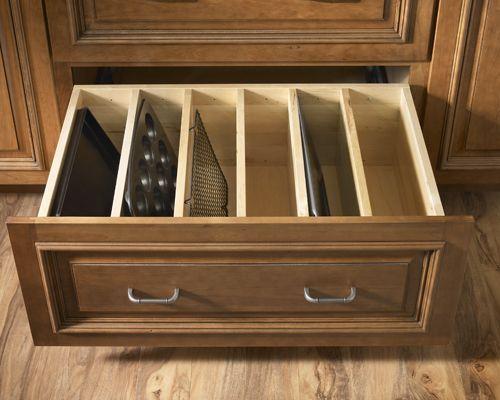 Baking Pan and Try drawer organiser