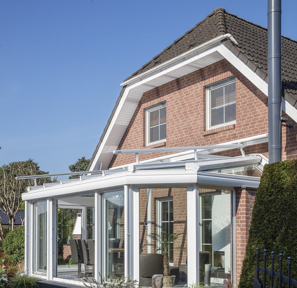 What is glass house extension?