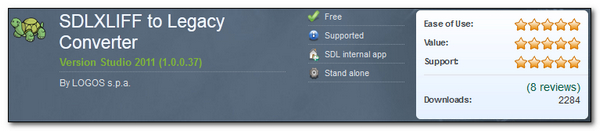 SDLXLIFF to Legacy Converter