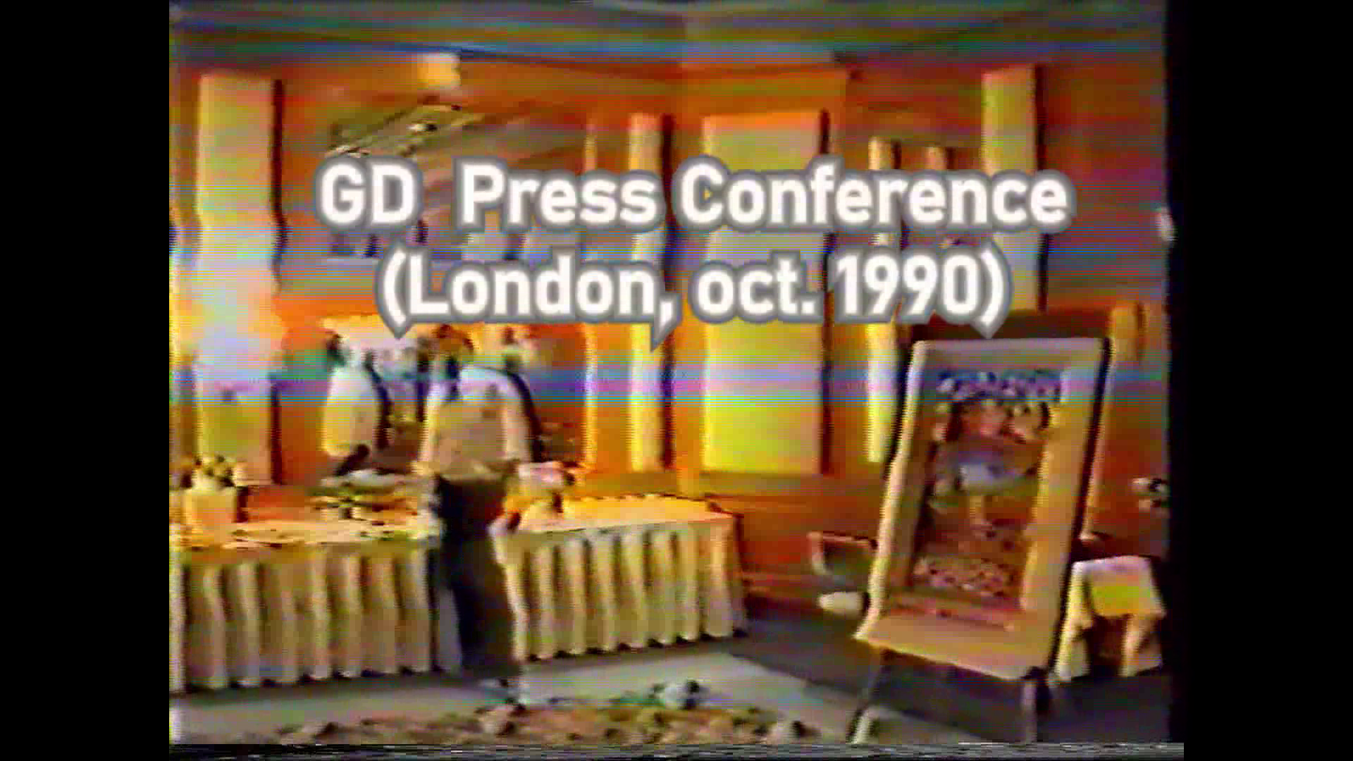press conference 1990