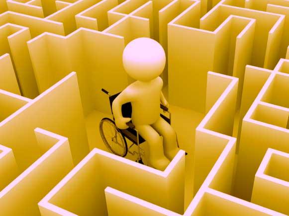 Siger nej. Ej, gider altså ikke det at, være en handicappet. Ej noget tid i mit liv. ej noget tid i dette liv Ville levet som handicappet nej. tak