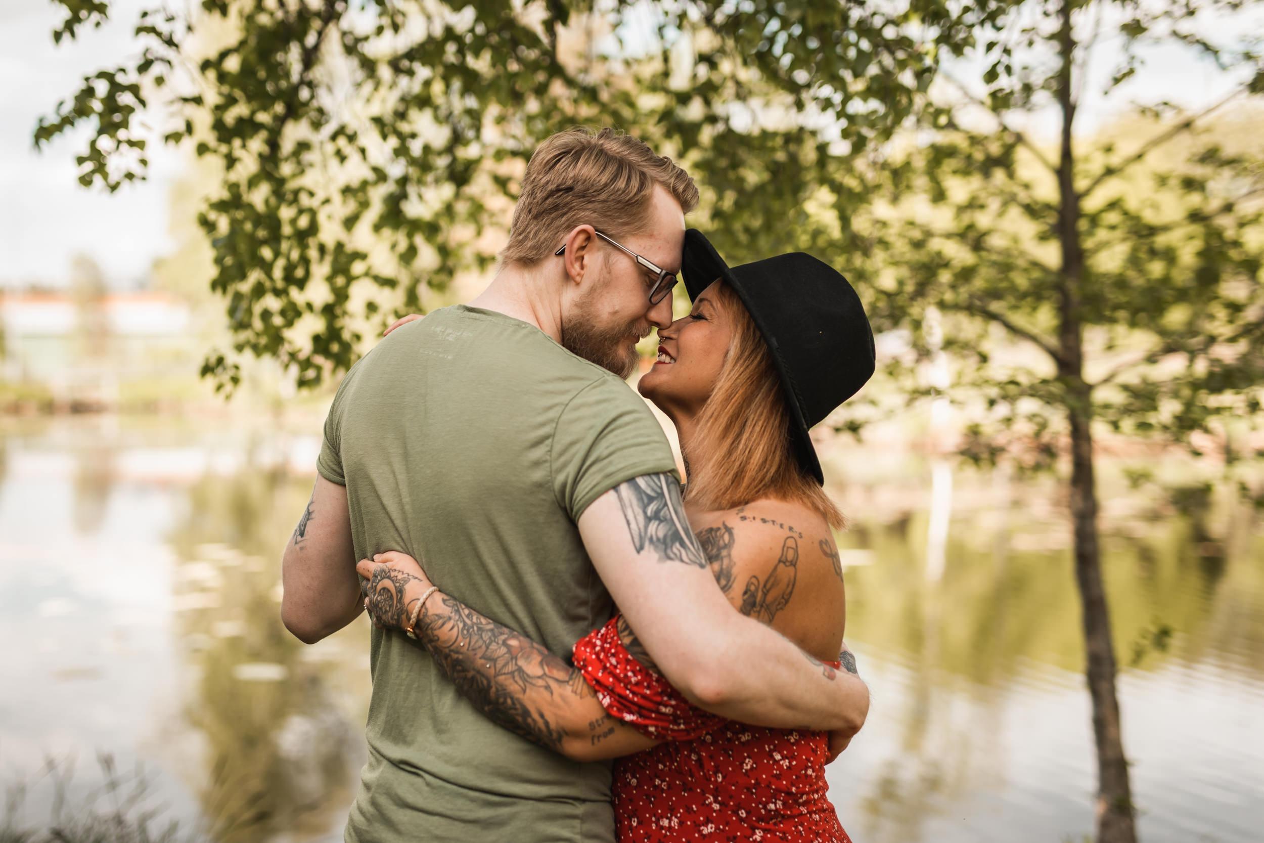 Kärleksfotografering i Småland