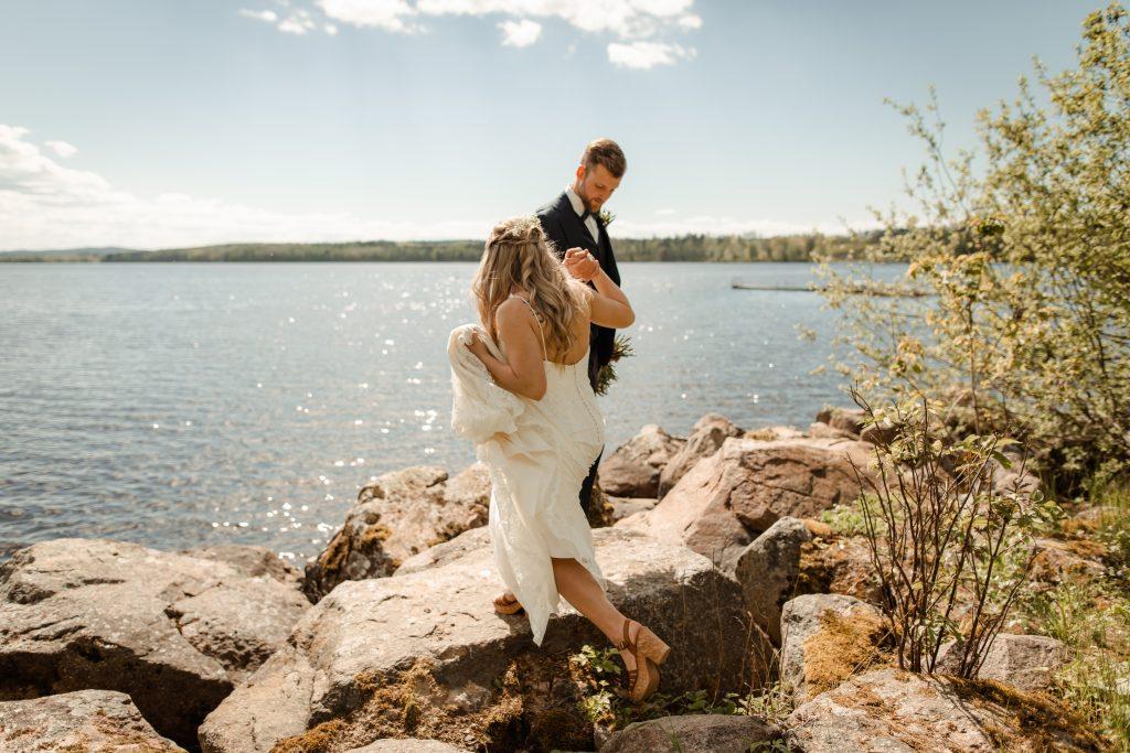 Bröllop på Tovrida Udde Lekeryd
