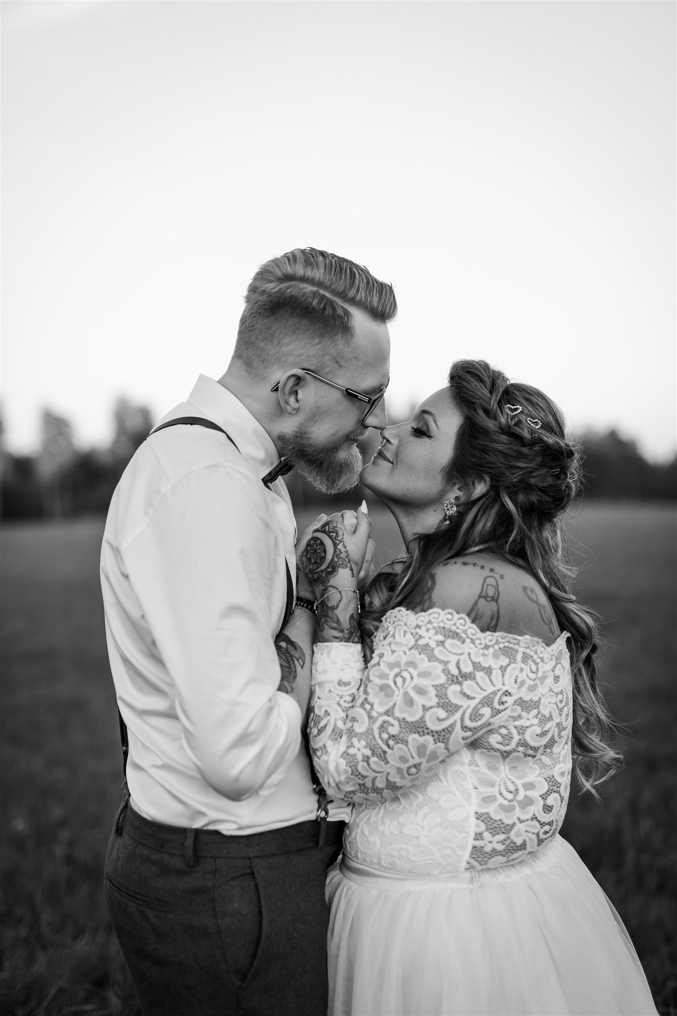 Bröllop vid Blankefall loge