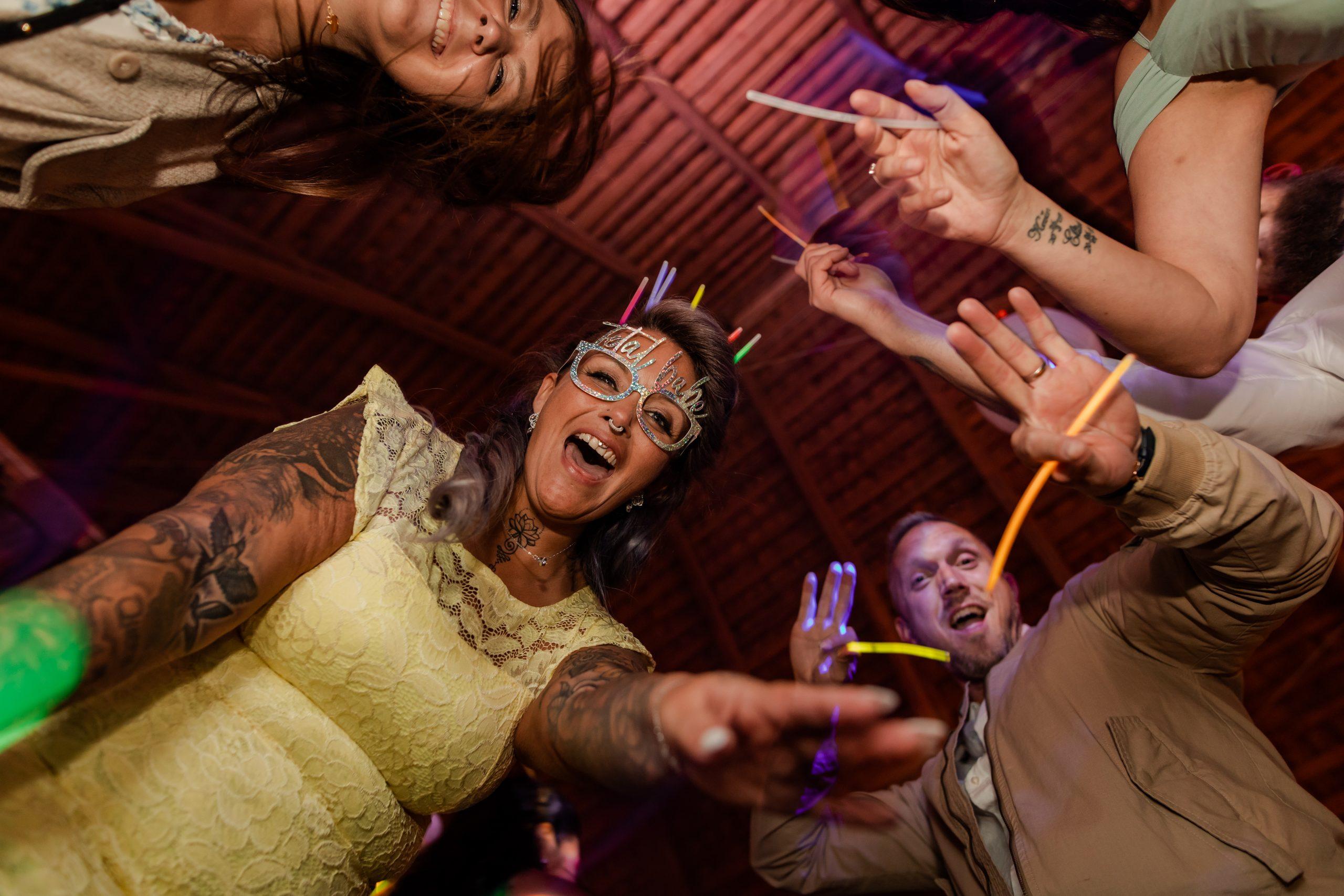 Bröllopsfest i Blankefall loge