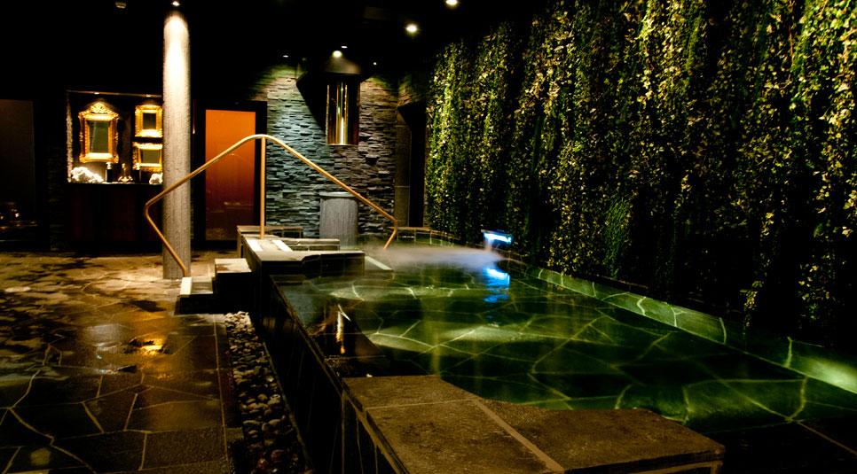 Der er mildest talt ultra-lækkert i spa-afdelingen. Foto: Ystad Saltsjöbad