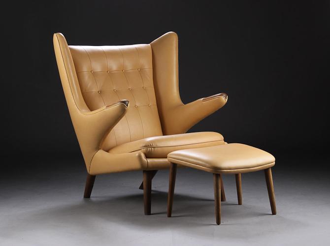 Bemærk, der også findes en Kristian Illum Wikkelsø skammel på denne auktion
