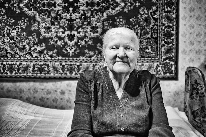 Maria, 87 år. Foto: Keen Heick-Abildhauge