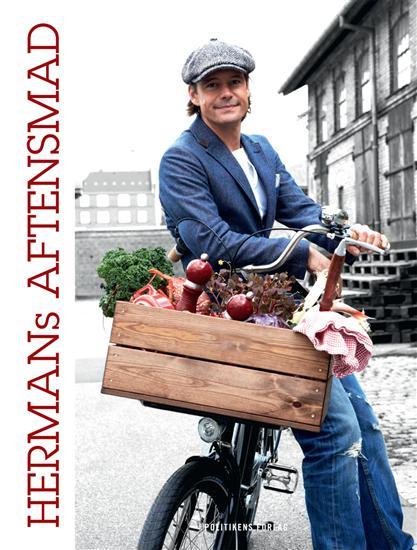 En af Hermans kogebøger. For tiden pusler han med en kogebog til de mindste