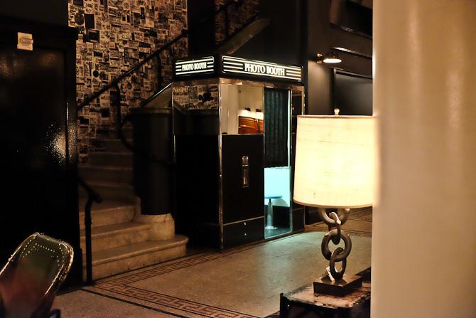 En automat, der kan fotografere