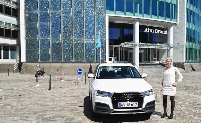 Audi Q3 og Ann Aavild