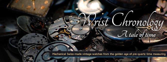 Hos WristChronology handler det om gamle sager...