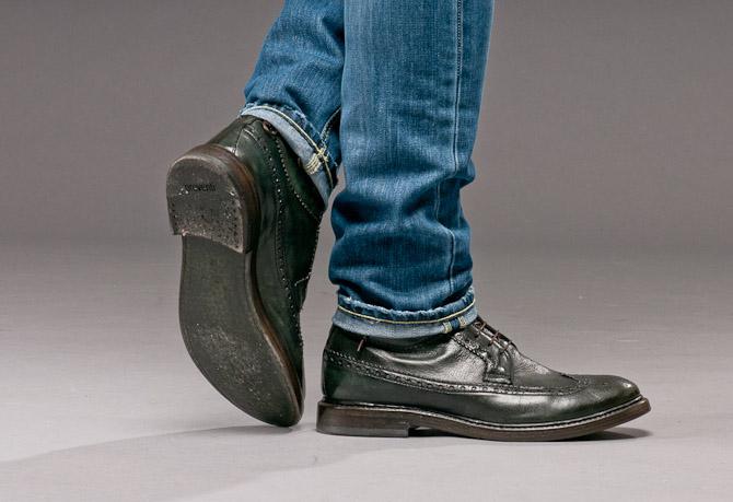 Preventi pedaler i grønt læder? Absolut. Få eventuelt smidt en gummisål under, hvis du hopper i vandpytter...