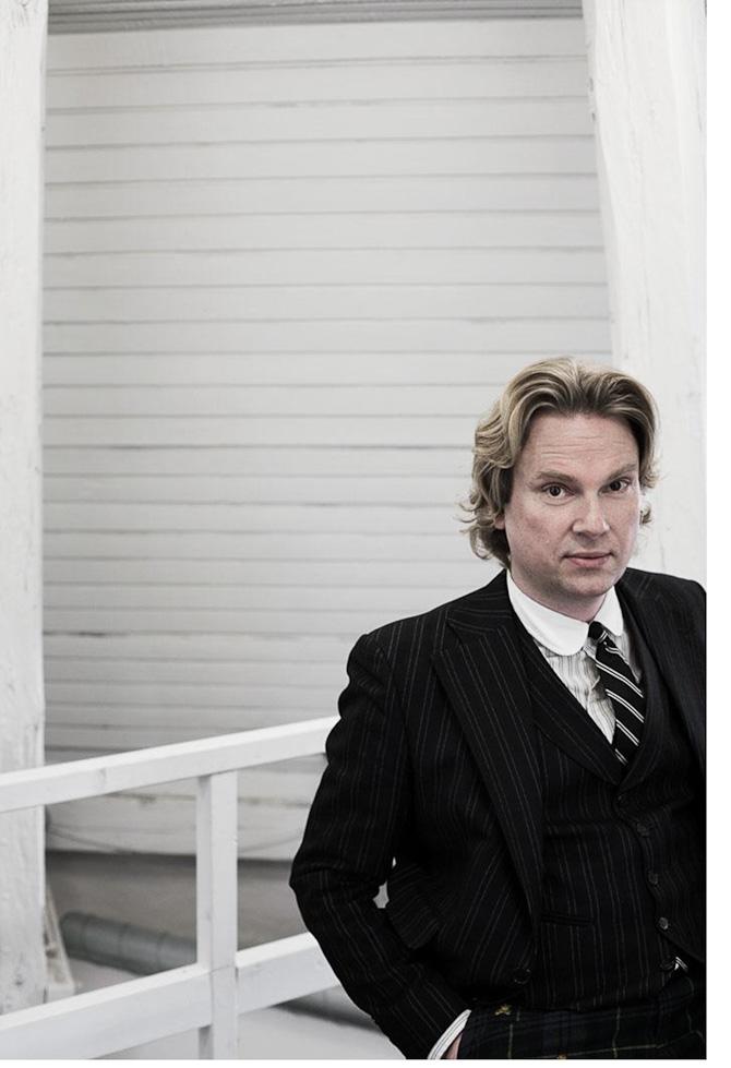 Bigum himself. Portræt af Heidi Lerkenfeldt