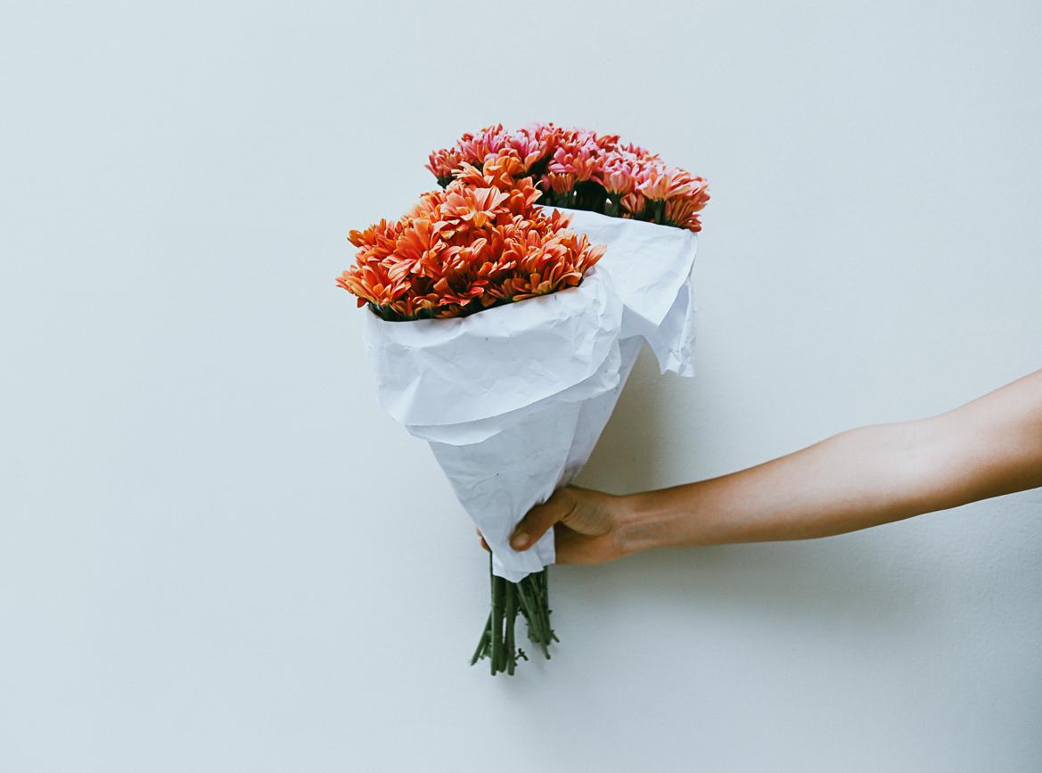 blomsterbuketter