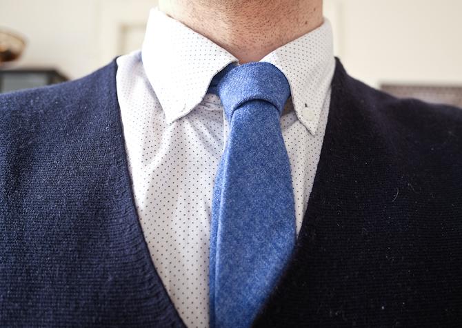 Slipset - og den prikkede skjorte