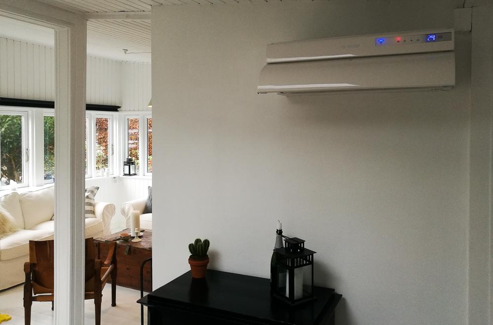 Det nye, vægmonterede Bosch apparat