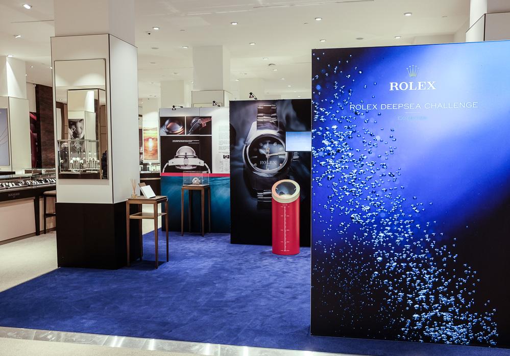 Rolex udstilling - med både facts og ure