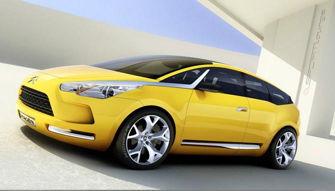 Det begyndte med en gul konceptbil...