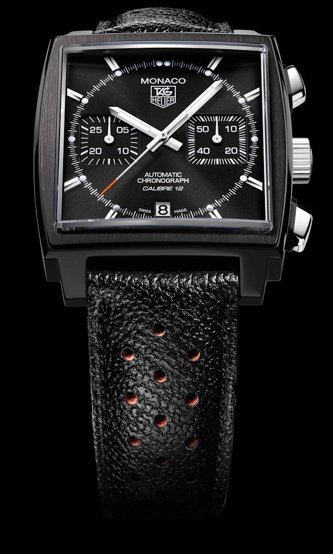 Monaco Calibre 12 Black Edition