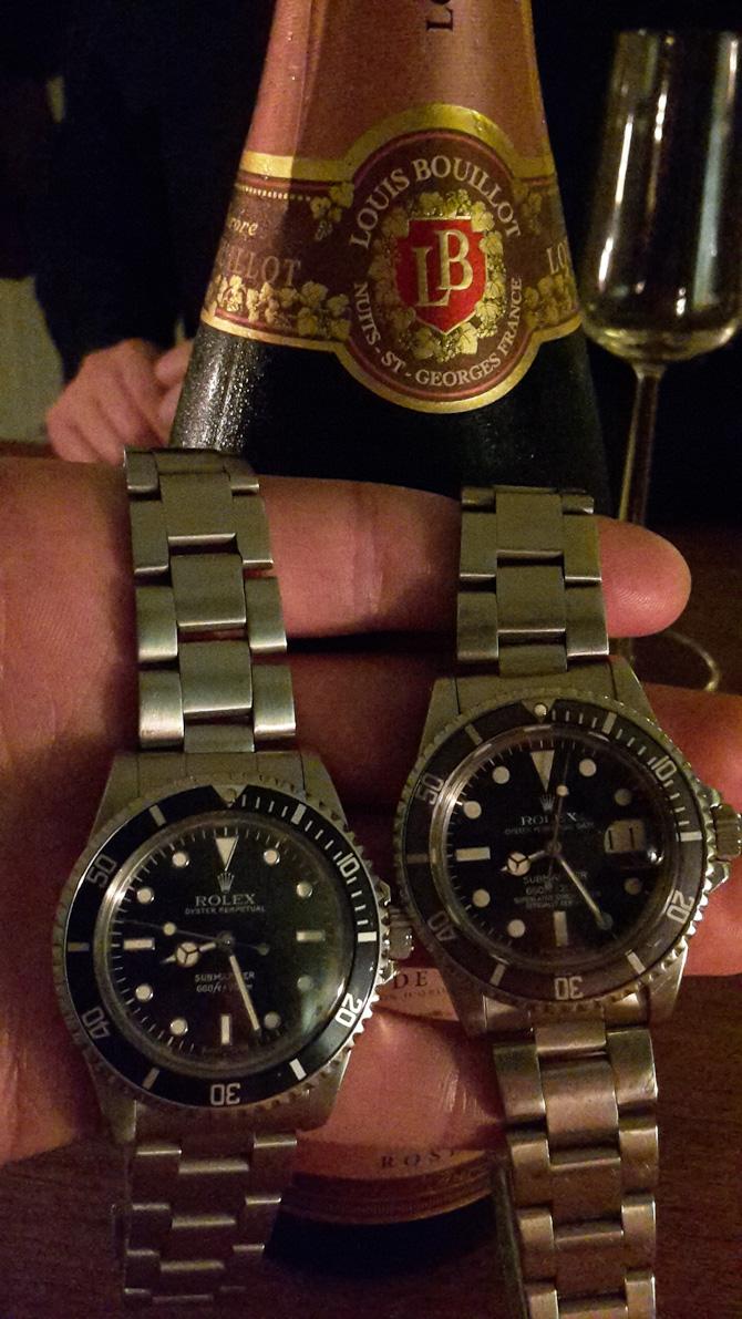 Christian Arpe med to gange Rolex