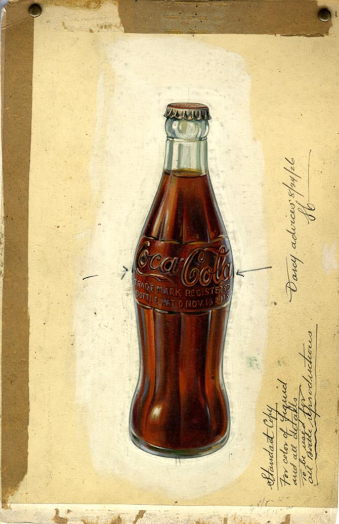 Flaskedesignet for 100 år siden