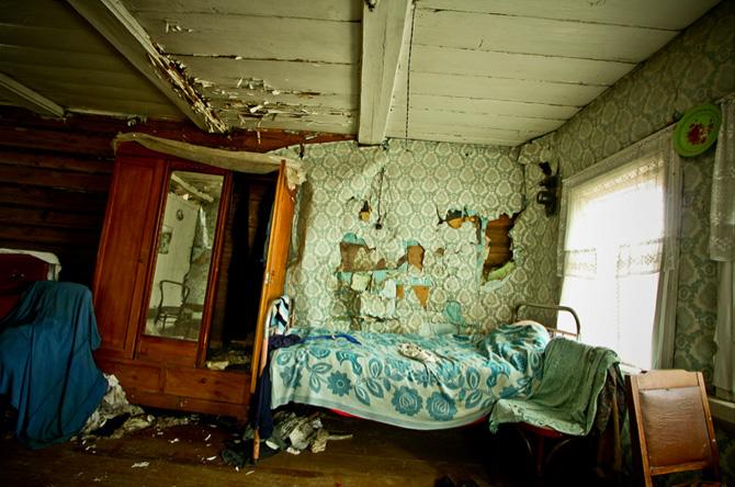 Country house Russia - foto fra bogen Abandoned af Elhøj og Kirckhoff