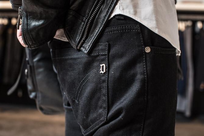 Dondup D på buksebag