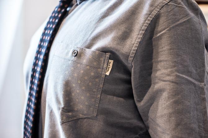 Paul Smith skjorte samt Rossi & Ghezzi slips