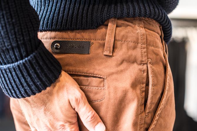 Med let-genkendelig læder-batch