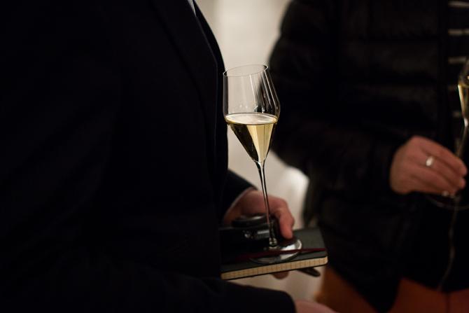 Klar, parat, Dom Pérignon 2004 som velkomst