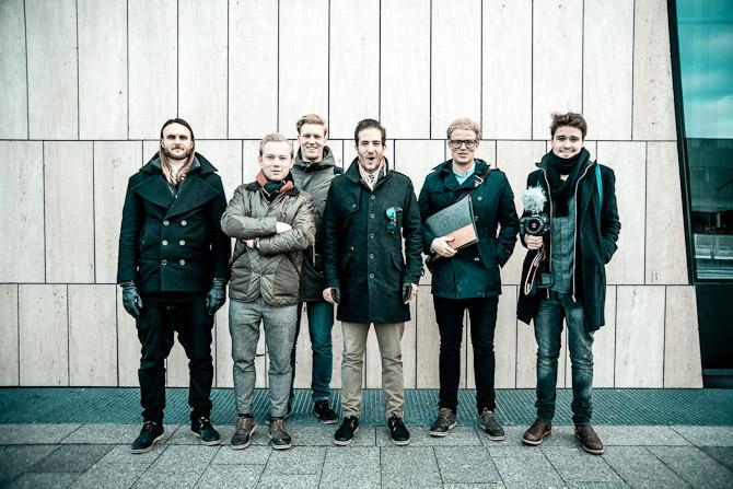 Gruppefoto - midt i en pause... Foto: Jacob Jorb Hansen