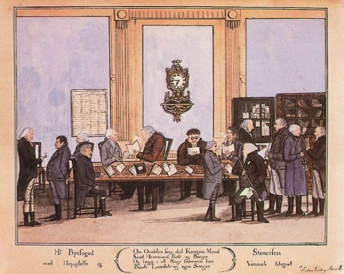Drejers klub, 1815