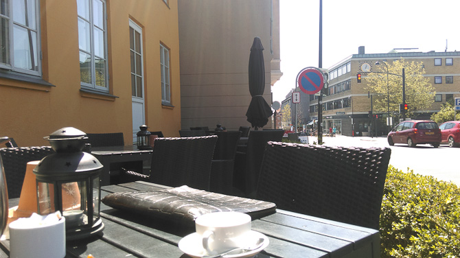 En herlig stund på Gentofte Hotel. Tak til Johan.