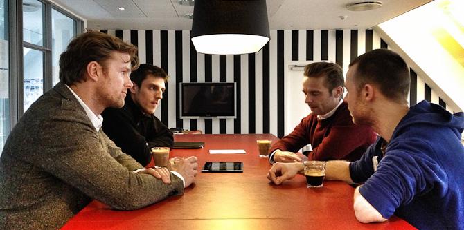 Snapshot fra Mega Design, hvor der arbejdes på Bulbul projektet.