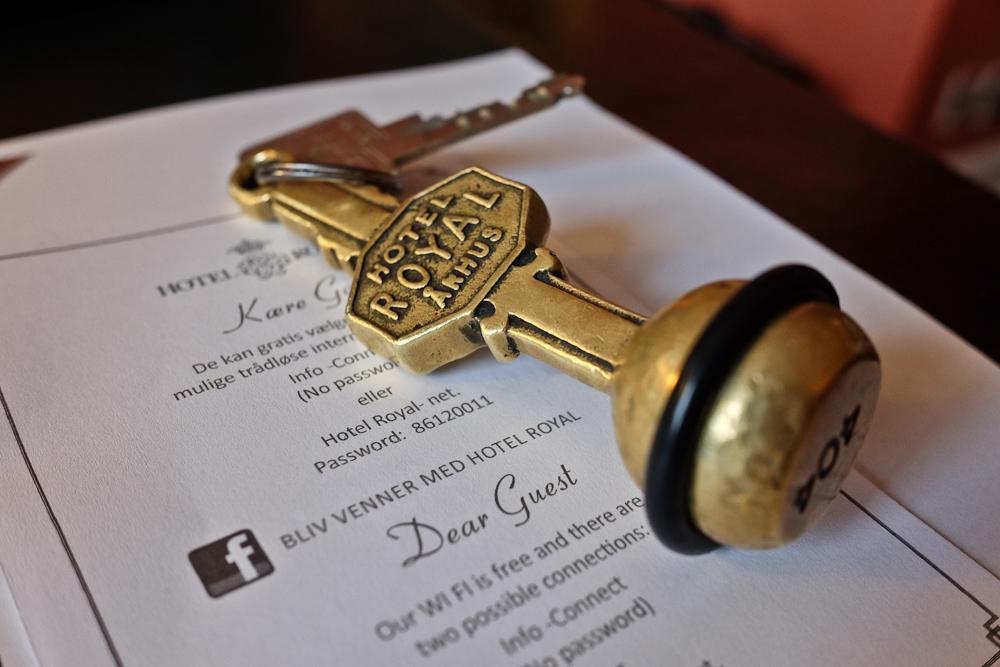 Gammeldags nøgle