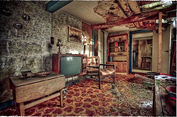 House VR - foto fra bogen Abandoned af Elhøj og Kirckhoff