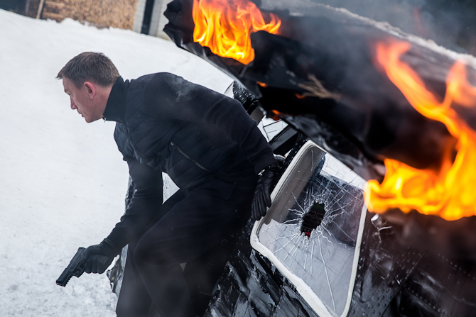 Bond i Tirol. Foto: Sony Pictures Releasing GmbH