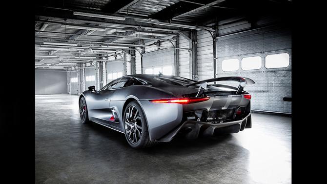 Den skruk-relaterede hybridkreation fra Jaguar. Foto: Jaguar