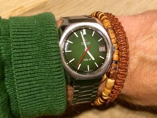 Jan Hansen med grønt i grønt
