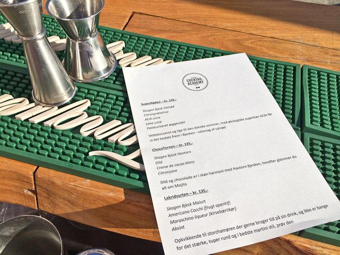 Copenhagen Cocktail Academy er i øvrigt Jannick Grams virksomhed