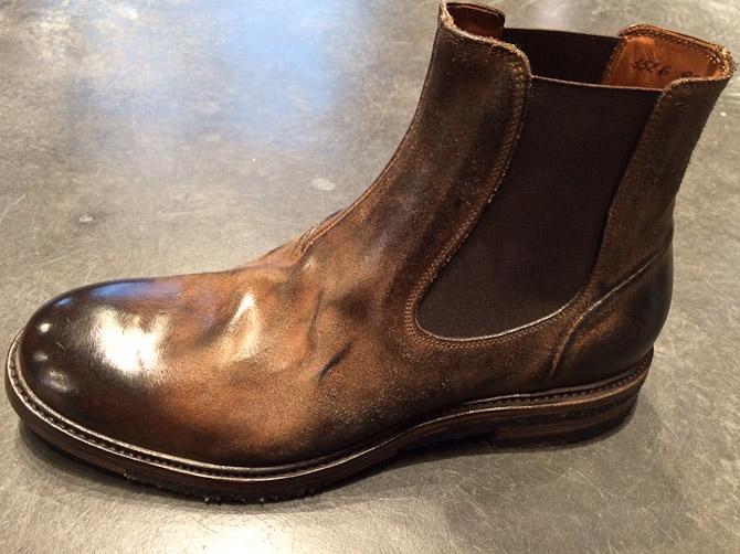 Sassetti støvle med Rågummi/Goodyear sål