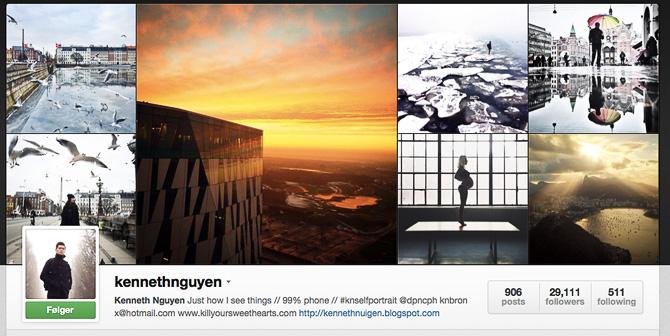 Der sker en del på Instagram...